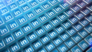 Wave Of LinkedIN Icons