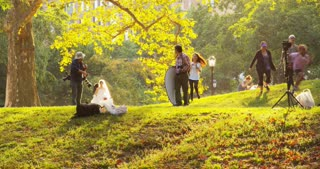 Wedding Photo Shoot in Central Park