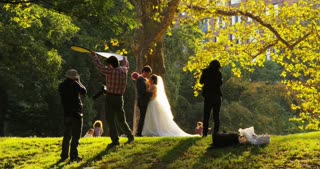 Wedding Photo Shoot in Park
