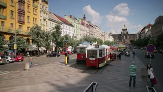 Wenceslas Square, Prague, Czech Republic, Europe