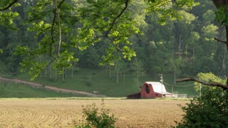 West Virginia Farmland And Barn