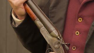 Western Man Handling Shotgun