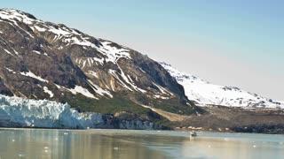 White Alaskan Glaciers