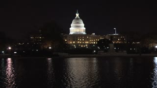 Wide Shot US Capitol