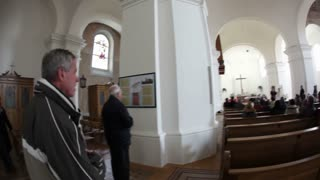 Wide View In Church