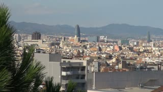 Wide View of Barcelona Spain 4