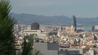 Wide View of Barcelona Spain 5