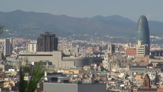 Wide View of Barcelona Spain 6