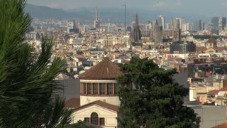 Wide View of Barcelona Spain 8