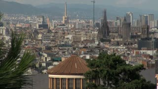 Wide View of Barcelona Spain 9