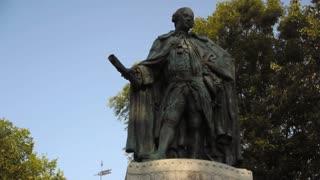 William and Mary Statue Williamsburg