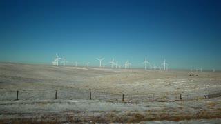 Wind Farm Landscape Wide View 1