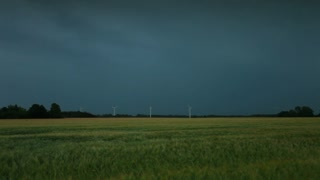 Wind Mills and Lightning in Copenhagen Field