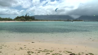 Wind Surfing Beach Timelapse