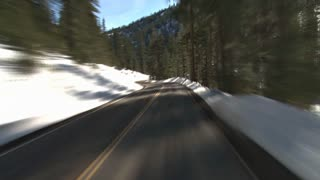 Winter Mountain Driving
