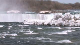 Wintery Niagara Falls
