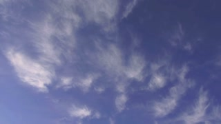 Wispy Clouds Overhead