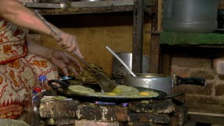 Woman Cooking Authentic Nepali Food 3