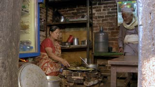 Woman Cooking Authentic Nepali Food 5