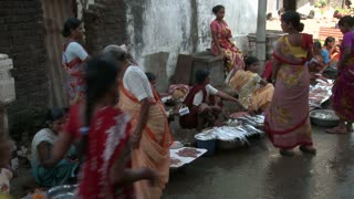 Women Selling Fish at Market in India