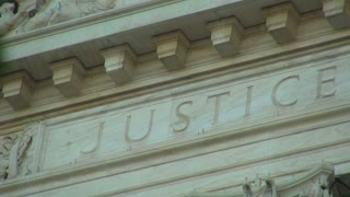 Word Justice on Supreme Court Building