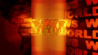 World News Light Column Orange