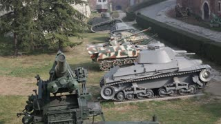 World War Replica Tanks