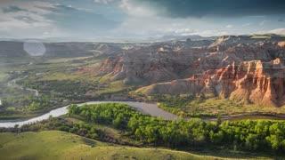Wyoming Drone Inspiring Aerial