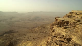 Yellow Rock Mountain With Desert In Background 2