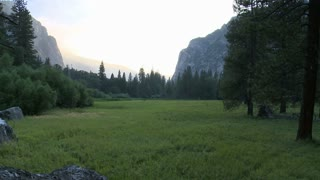 Yosemite Sunset Timelapse