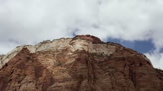 Zion Cliffs Cloud Timelapse