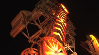 Zipper Carnival Ride on Ocean City Maryland Boardwalk 2