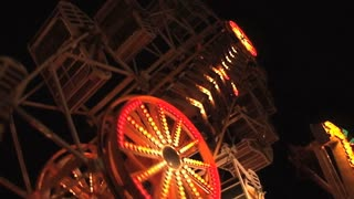Zipper Carnival Ride on Ocean City Maryland Boardwalk