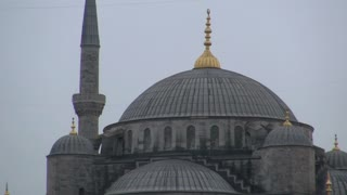 Zoom From Blue Mosque Dome