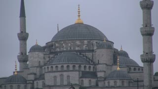 Zoom From Blue Mosque in Istanbul 2