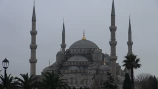 Zoom From Blue Mosque to Square