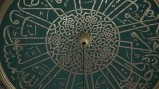 Zoom From Suleymaniye Mosque Dome Artwork
