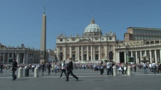 Zoom In On St. Peters Square Crowd