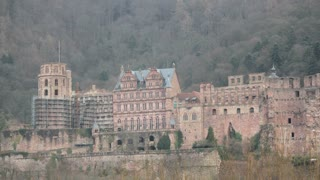Zoom on Heidelsberg Castle Tower