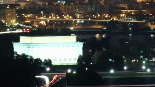 Zoom Out DC Traffic Sunrise