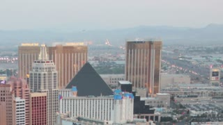 Zoom Out Luxor Hotel Time Lapse