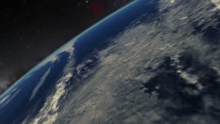Zoom Out on Earth Animation