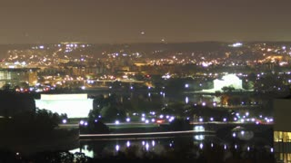 Zoom Out Scenic DC Sunrise Timelapse