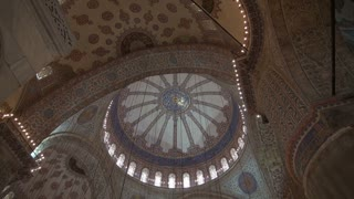 Zoom to Artwork Inside Blue Mosque Dome
