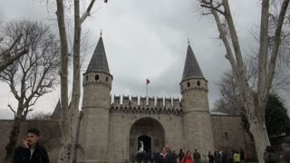 Zoom to Flag at Topkapi Palace Gates