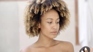 Girl With Makeup Brush