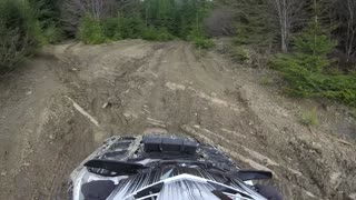 ATV Ride  on Mountain roads, Rocks and Dirt - GoPro cam