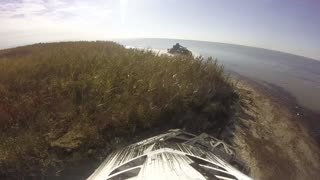 ATV Ride  through the Desert, Water, Dirt and the Sea Coast - GoPro cam