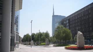 Business Center of Milan Italy - Skyscraper