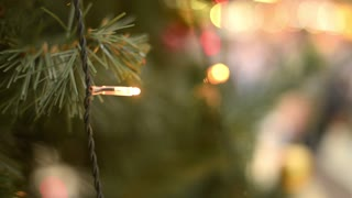 Christmas Decorations Light-emitting diode On The Christmas Tree